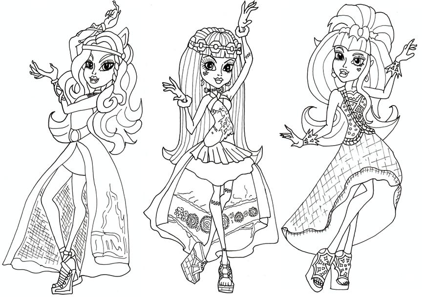 Haunt coloring #19, Download drawings