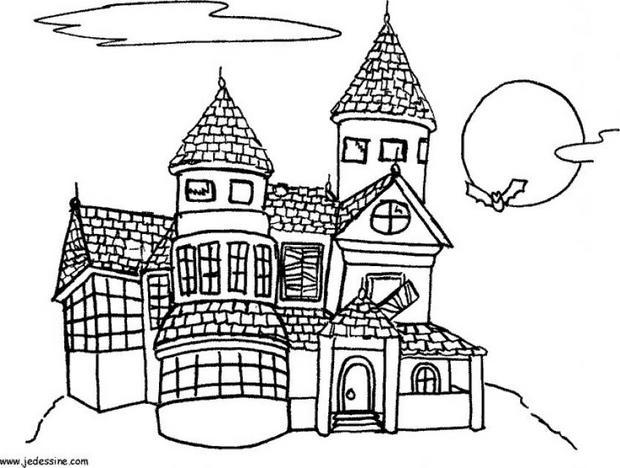Haunt coloring #12, Download drawings