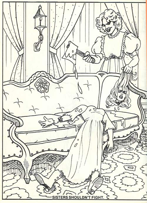 Haunted coloring #5, Download drawings