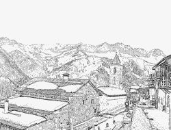Haute-Savoie coloring #2, Download drawings