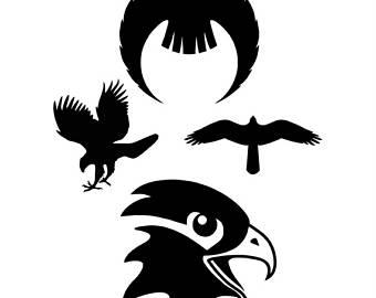 Hawk svg #18, Download drawings