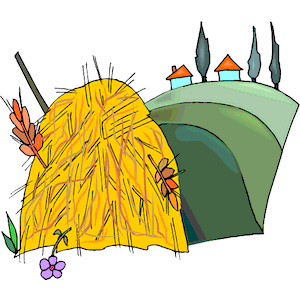 Haystack clipart #11, Download drawings