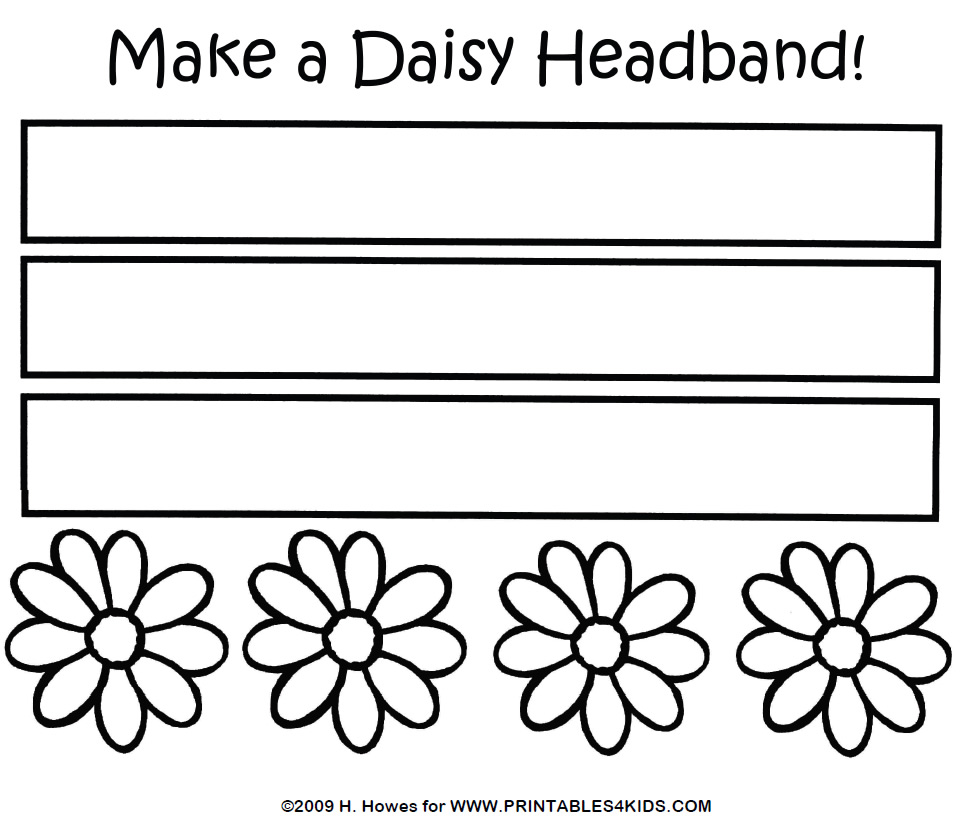 Headband coloring #18, Download drawings