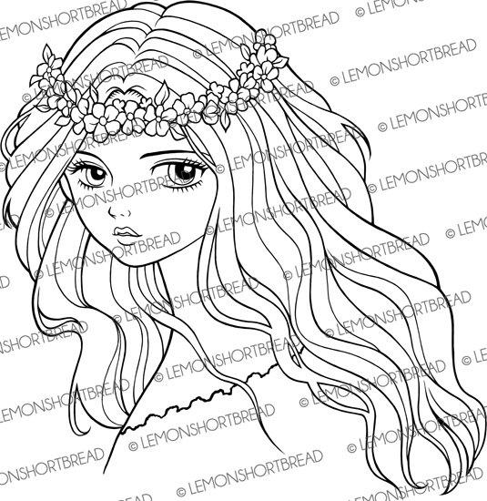 Headband coloring #13, Download drawings