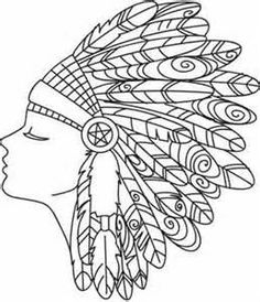 Headdress coloring #13, Download drawings
