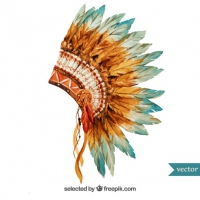 Headdress svg #9, Download drawings