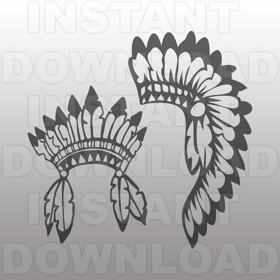 Indian svg #15, Download drawings