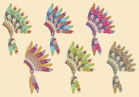 Headdress svg #2, Download drawings