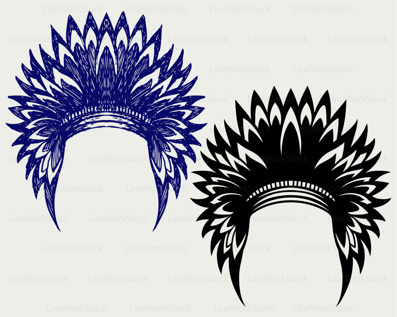 Headdress svg #8, Download drawings