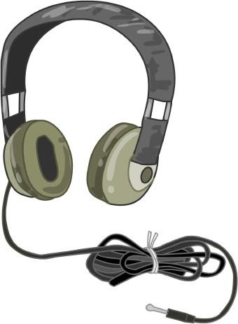 Headphones clipart #6, Download drawings