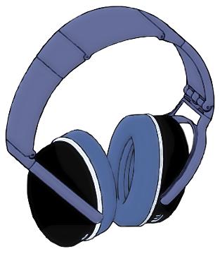 Headphones clipart #9, Download drawings