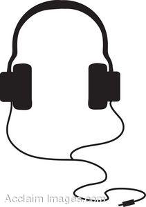 Headphones clipart #2, Download drawings