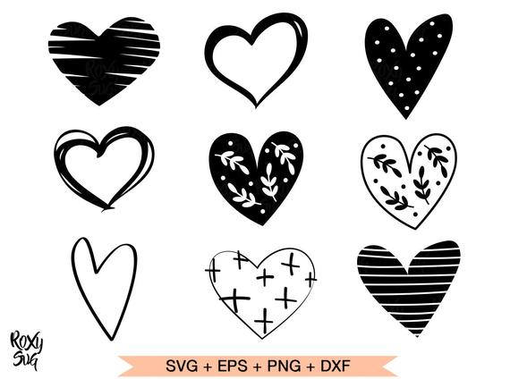 heart shape svg #1105, Download drawings