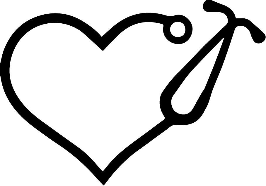 heart stethoscope svg #590, Download drawings