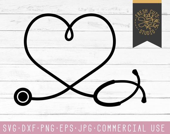 heart stethoscope svg #589, Download drawings