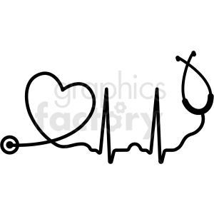 heart stethoscope svg #585, Download drawings