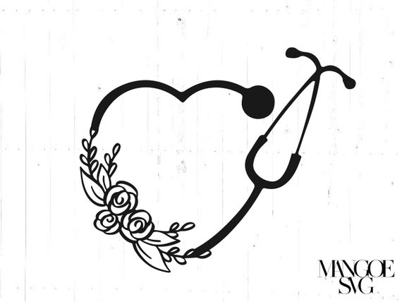 heart stethoscope svg #596, Download drawings