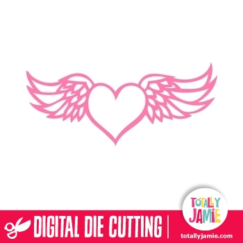 heart with wings svg #643, Download drawings