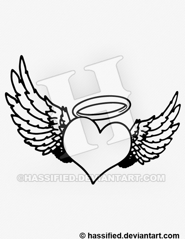 heart with wings svg #633, Download drawings