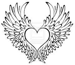 heart with wings svg #644, Download drawings