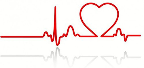Heartbeat clipart #1, Download drawings
