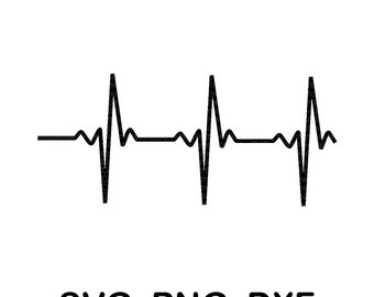 heartbeat line svg #603, Download drawings