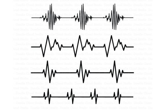 heartbeat line svg #601, Download drawings