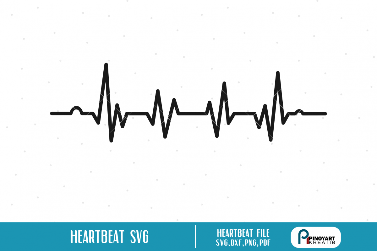 heartbeat line svg #596, Download drawings