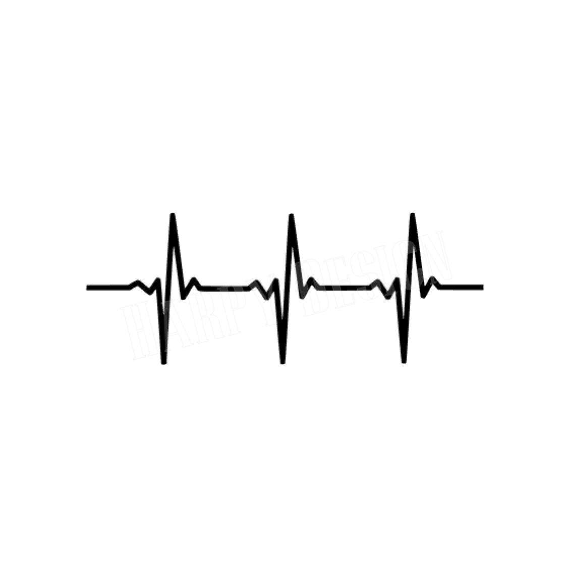 heartbeat line svg #595, Download drawings