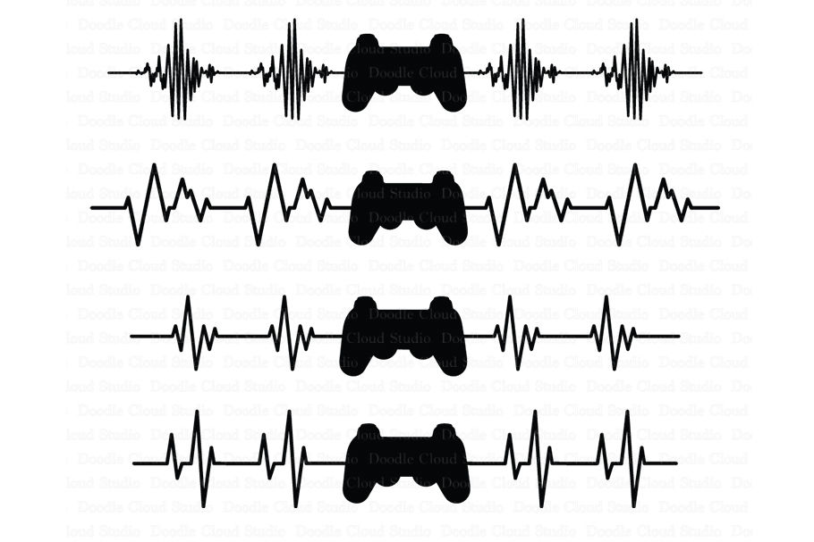 heartbeat line svg #592, Download drawings