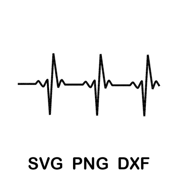 heartbeat line svg #593, Download drawings