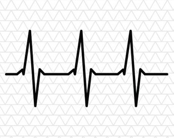 Heartbeat svg #10, Download drawings
