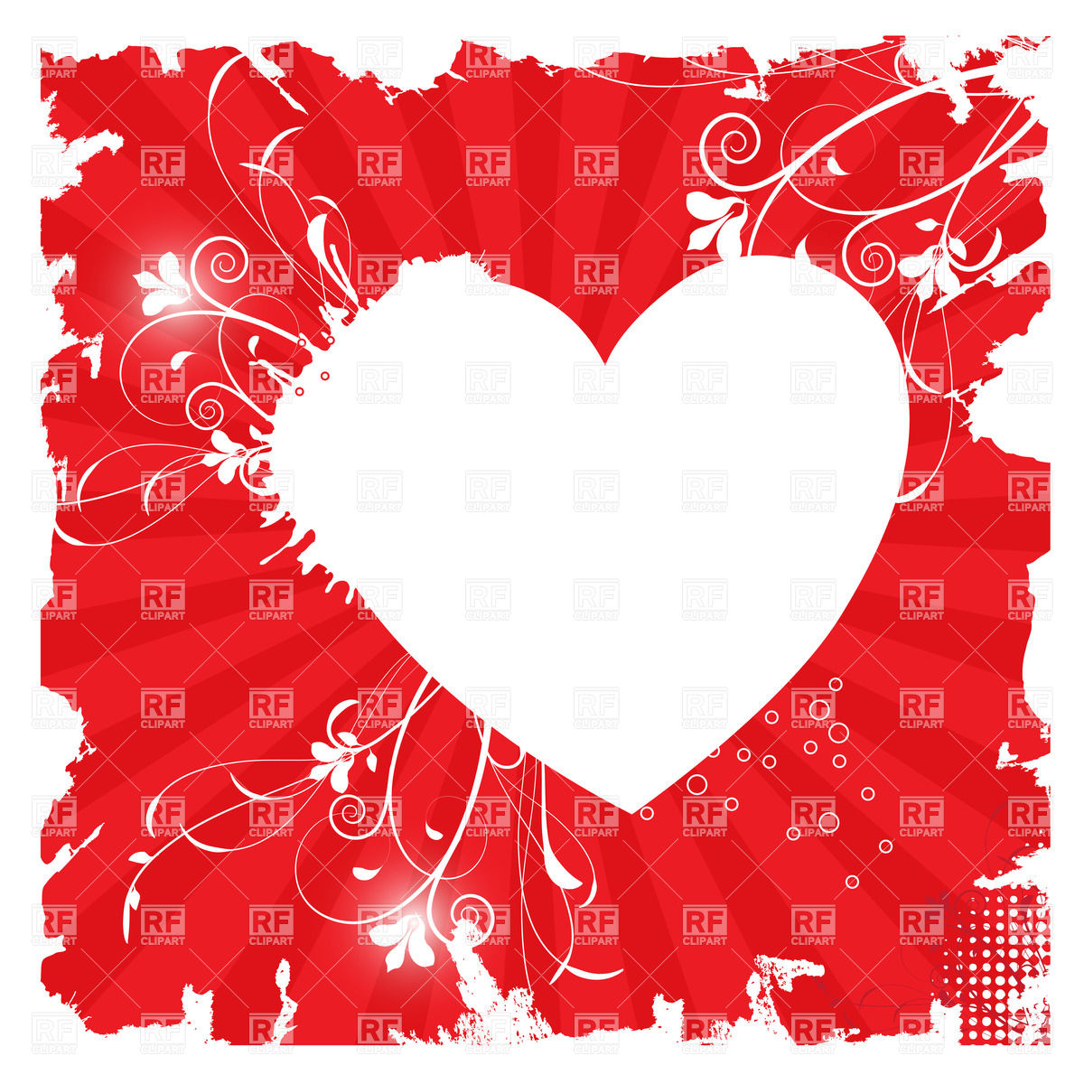 Heart-shaped clipart #1, Download drawings