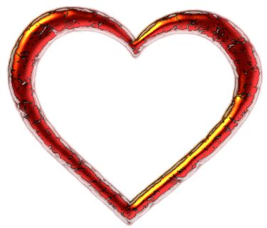 Heart-shaped clipart #7, Download drawings