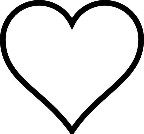 Heart-shaped clipart #5, Download drawings