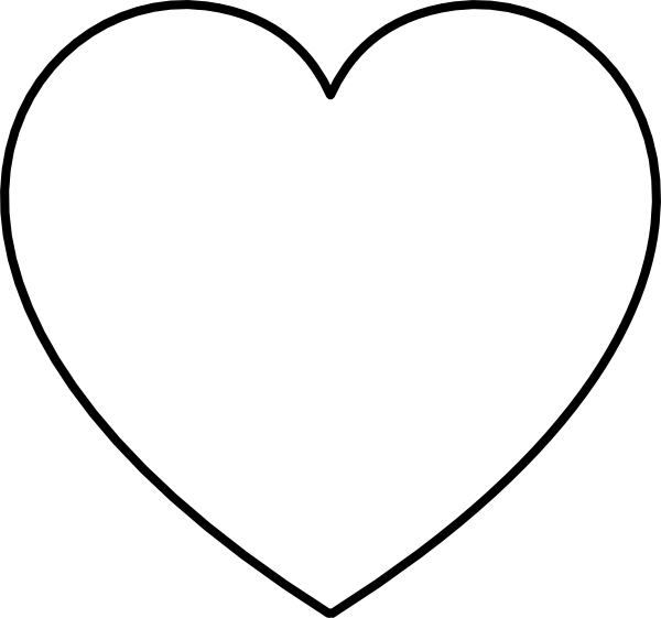 Heart-shaped clipart #12, Download drawings