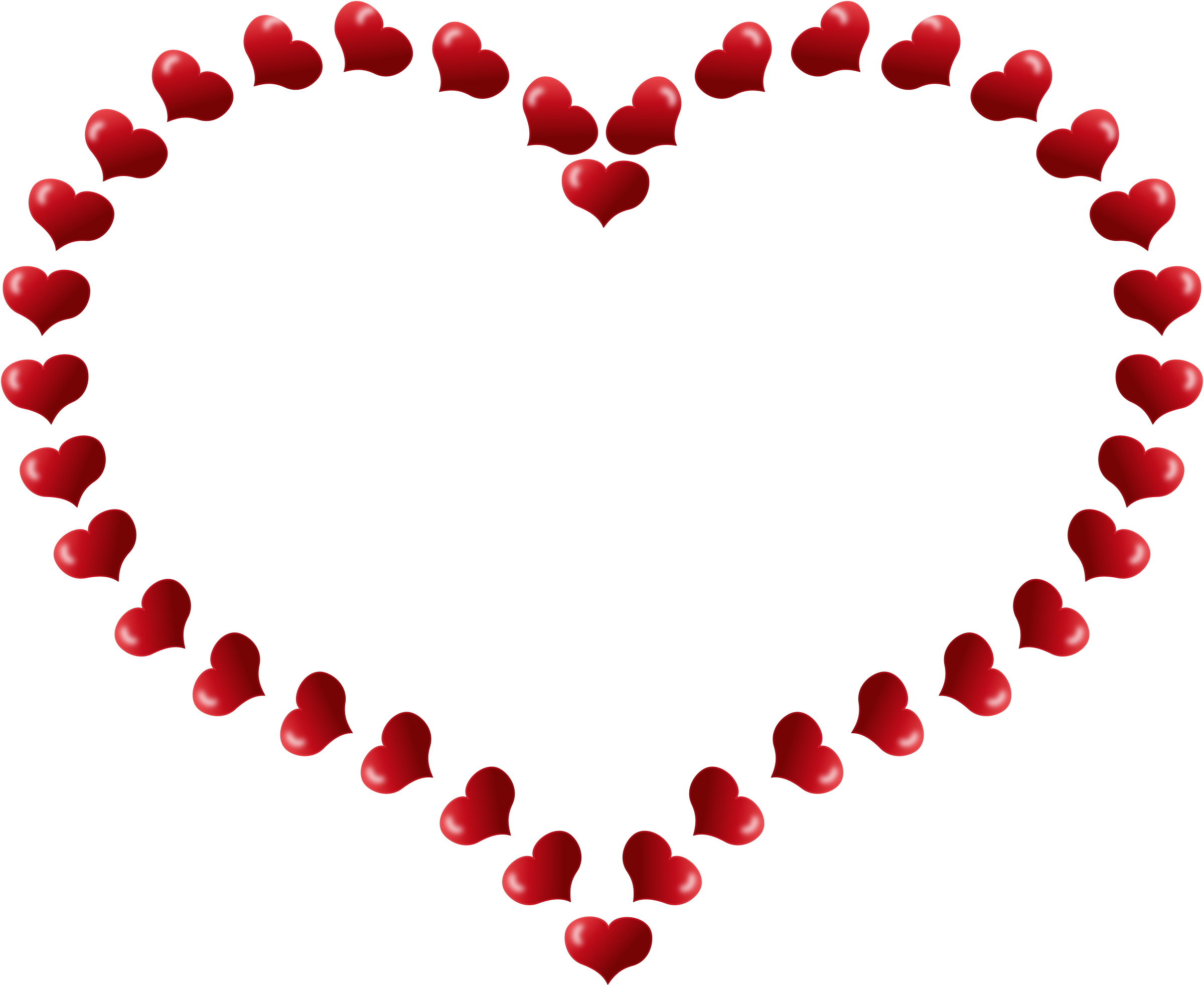 Heart-shaped clipart #9, Download drawings