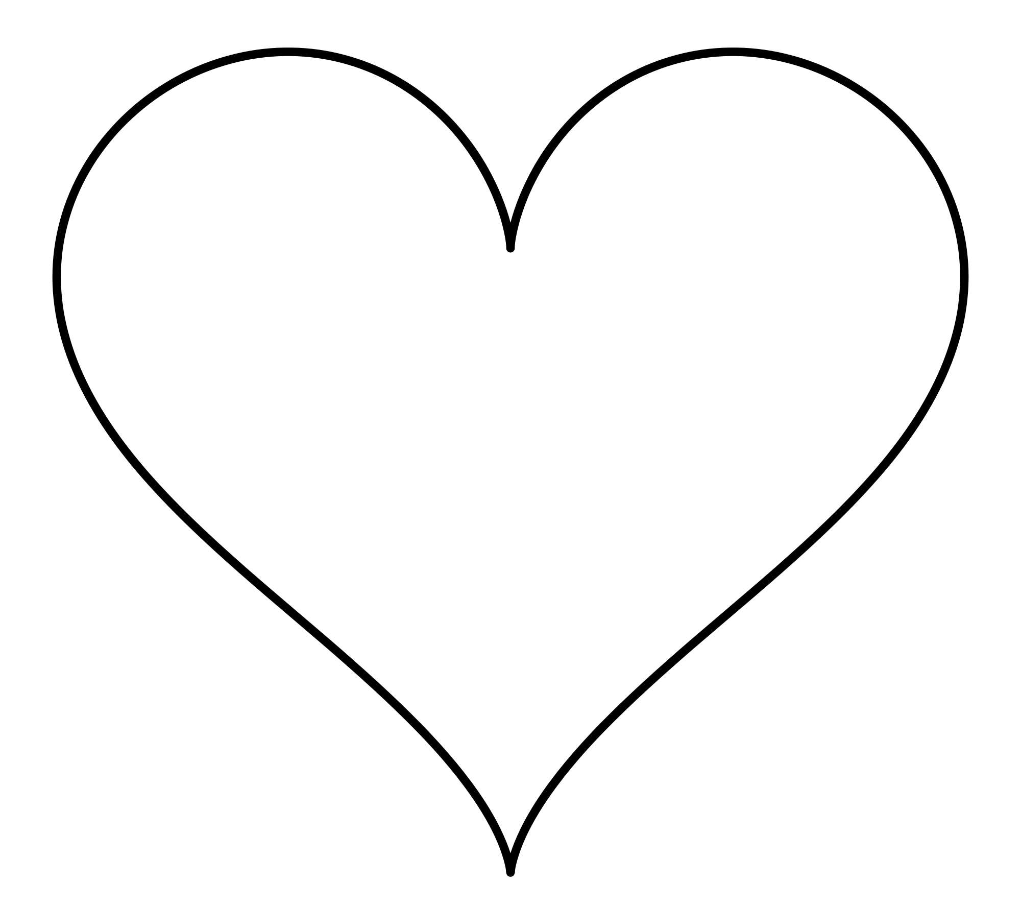 Heart-shaped svg #19, Download drawings