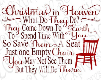 Christmas In Heaven Poem With Chair Printable.Heaven Svg Download Heaven Svg For Free 2019