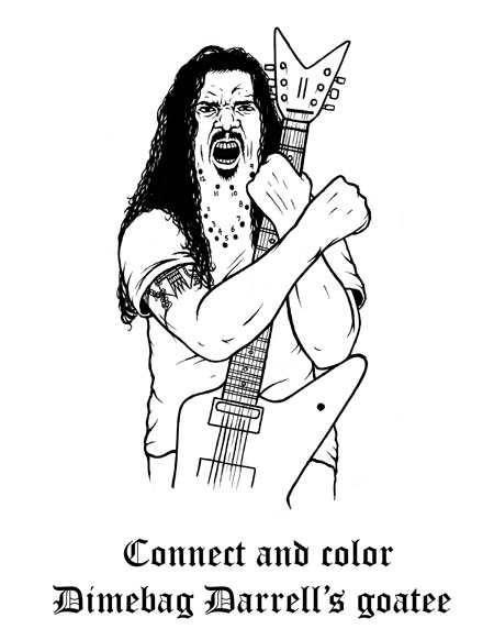 Heavy Metal coloring #19, Download drawings
