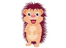 Hedgehog clipart #2, Download drawings