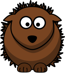 Hedgehog clipart #1, Download drawings