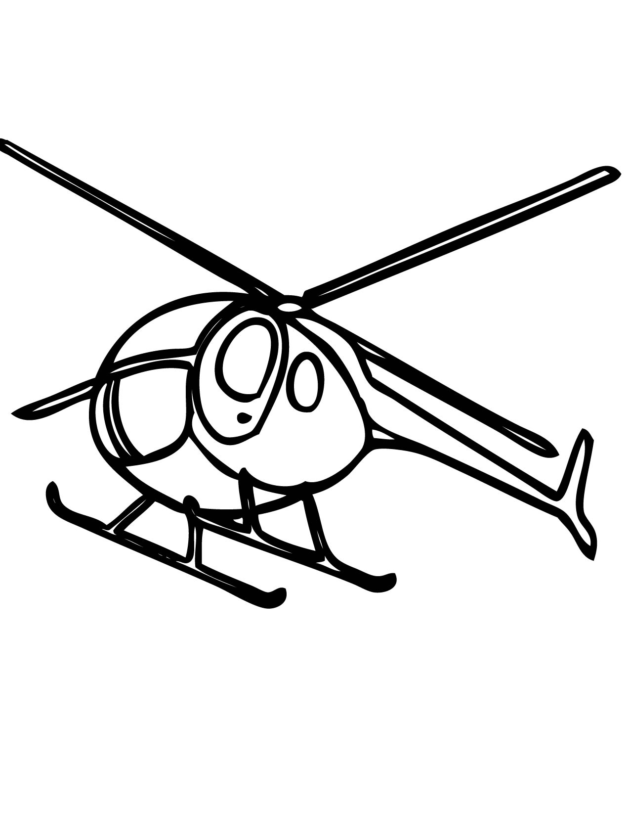 Attack Helicopter coloring #14, Download drawings