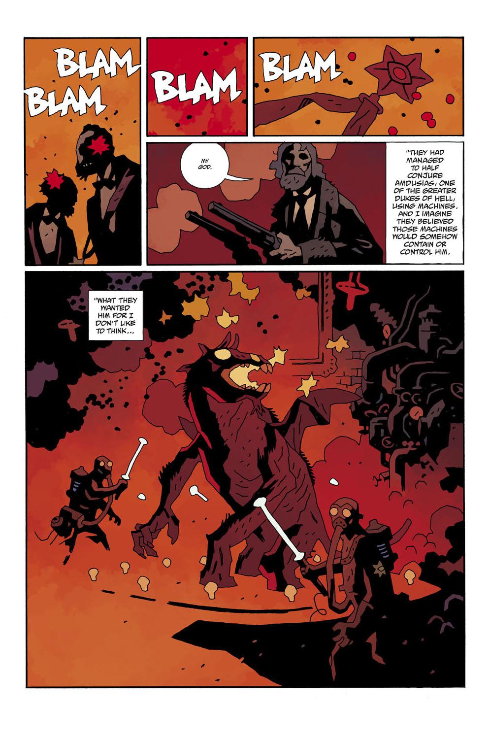 Hellboy coloring #16, Download drawings