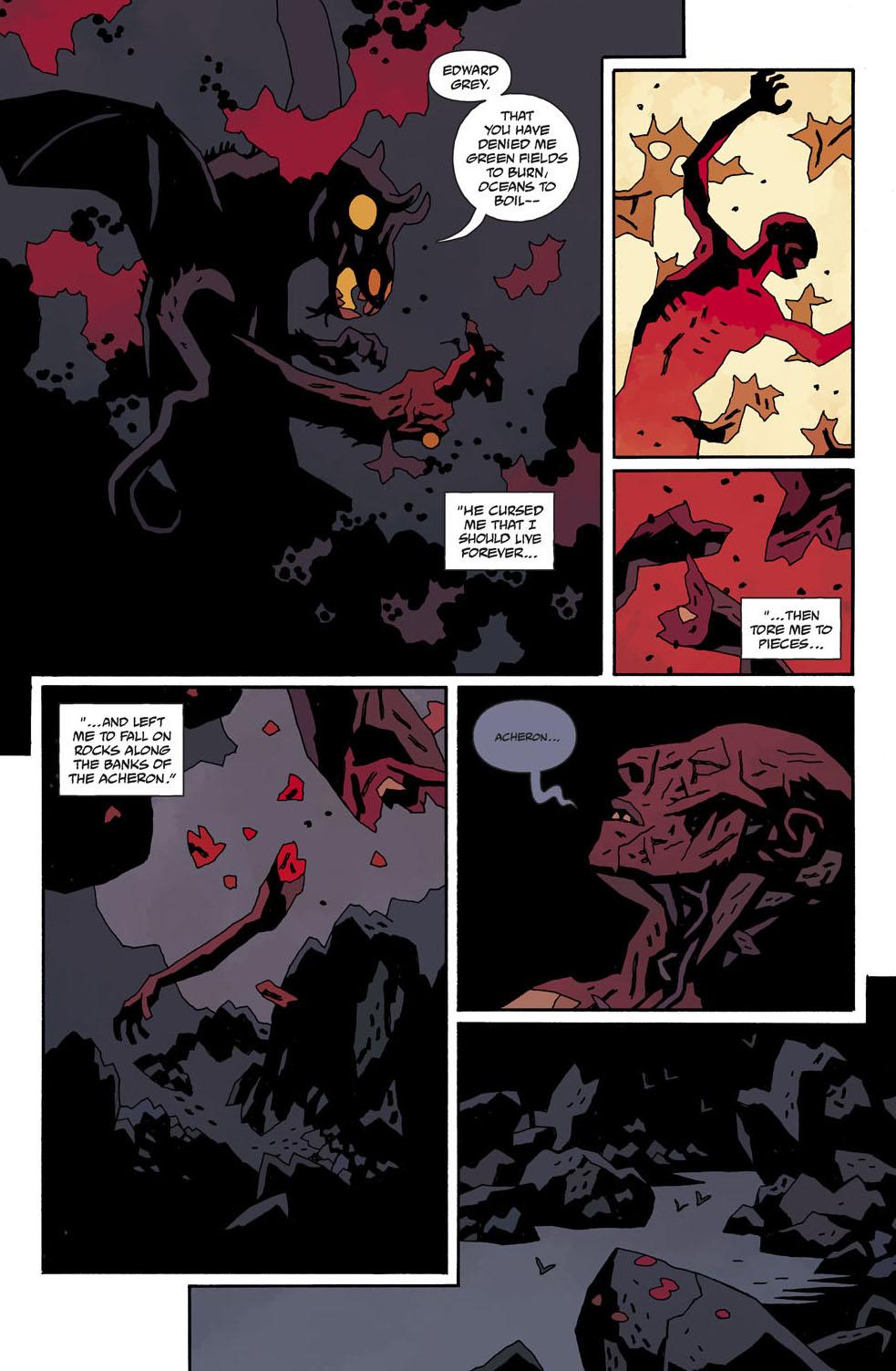 Hellboy coloring #14, Download drawings