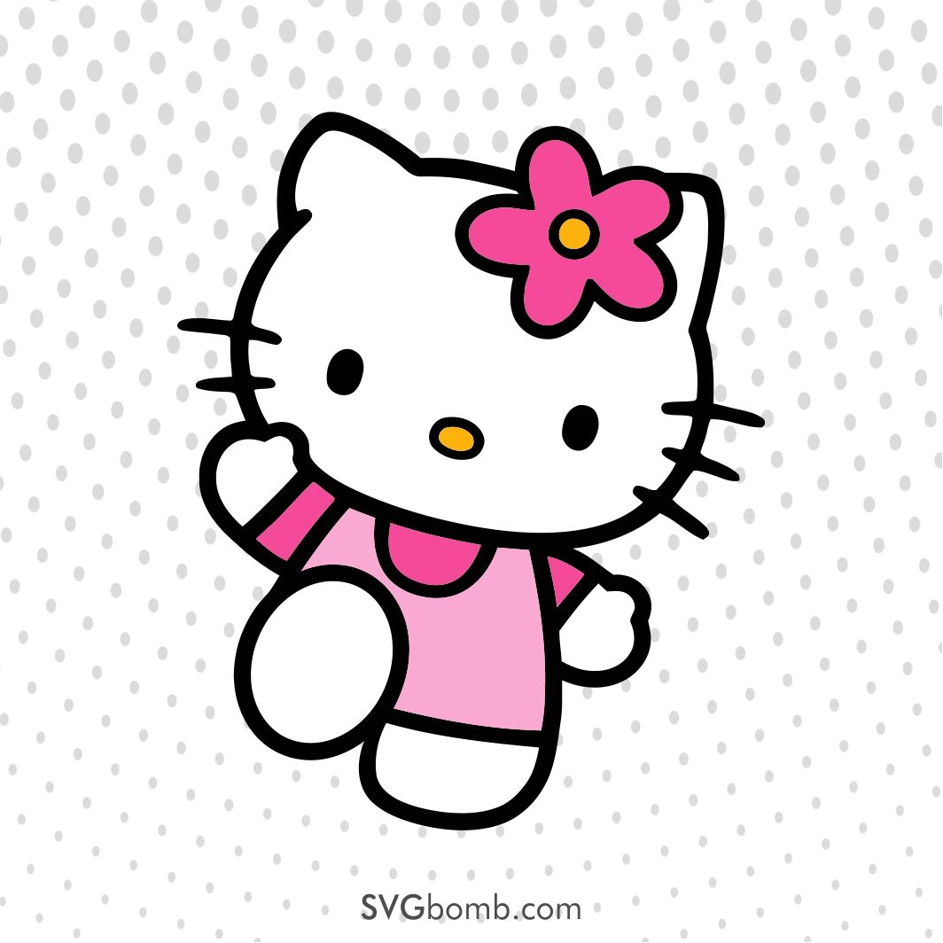 hello kitty svg #333, Download drawings