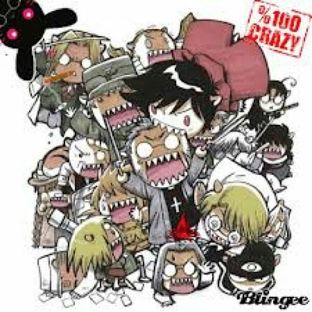 Hellsing clipart #3, Download drawings