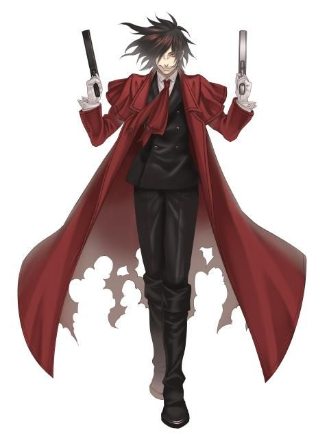 Alucard (Hellsing) svg #20, Download drawings