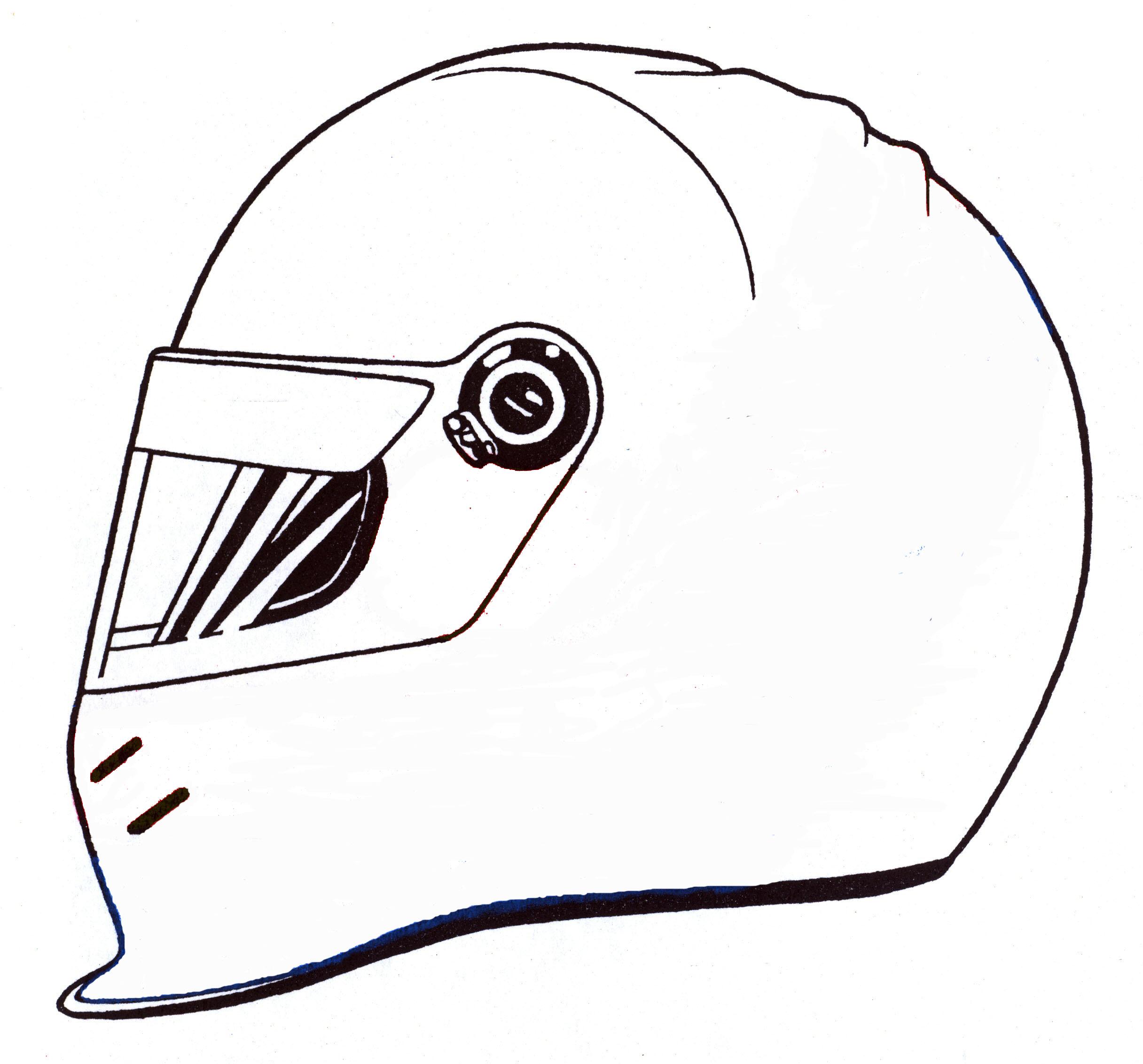 Helmet coloring #1, Download drawings