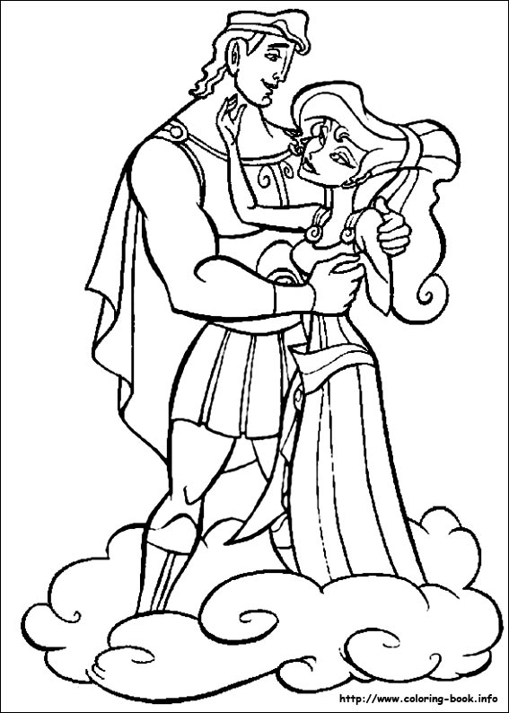 Heracles coloring #15, Download drawings